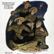 Sheet Music Cover, 1918 Poster