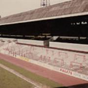 Sheffield United - Bramall Lane - John Street Stand 1 - 1970s Poster
