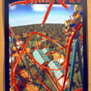 Sheikra Ride Poster 2 Poster