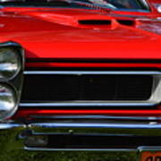 Red Gto Poster