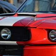 Shelby Gt500 Poster