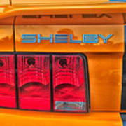 Shelby Tail Light Poster