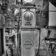 Shell Gas Pump Poster