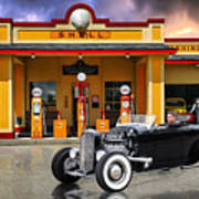Shell Station .... Poster