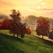 Shenandoah Valley Sunrise Poster