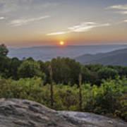 Shenandoah Valley Sunset  Poster