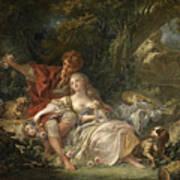 Shepherd And Shepherdess Poster