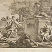 Shepherds In Arcadia Poster