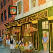 Sherlock Holmes Restaurant Poster
