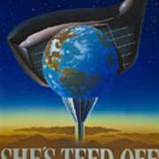 She's Teed Off Poster