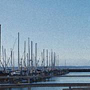Shilshole Bay Marina 2010 Poster