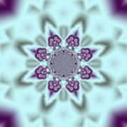 Shimmering Snowflake Poster