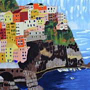 Shine - Cinque Terre, Italy Poster