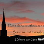 Shining Light Poster