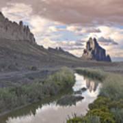 Ship Rock New Mexico Poster