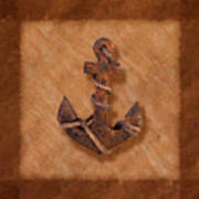 Ship's Anchor Poster