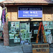 Shop Behind The Wall Poster