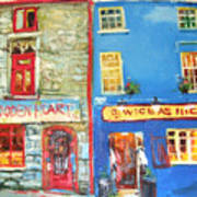 Shopfronts Galway Poster