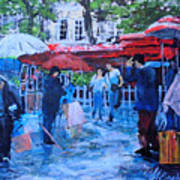 Shopping Montmartre Poster