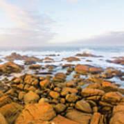 Shore Calm Morning Poster
