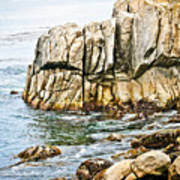 Shores Of Pebble Beach Poster