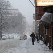 Shoveling Snow Poster