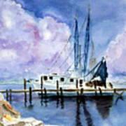 Shrimpboat Poster