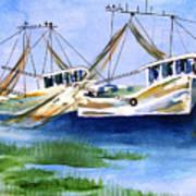 Shrimpboats Poster