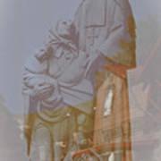 Shrine Reflections Poster