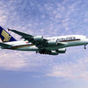 Sia A380 9v-ska Poster