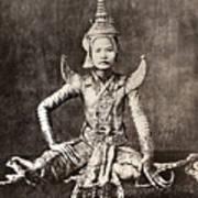 Siam: Dancer, C1870 Poster