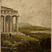 Sicilian Scenery 1823 Poster