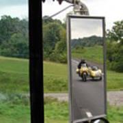 Side Car Framed Poster