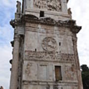 Side View Of The Arch Of Constantine Poster