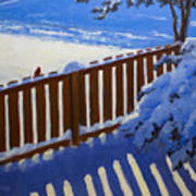 Side Yard Snow Poster