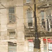 Sidewalk Reflections II Poster