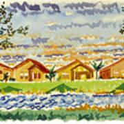 Siena Lakes Poster
