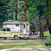 Sierra Campsite Poster