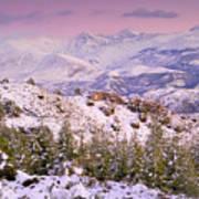 Sierra Nevada At Sunset Poster