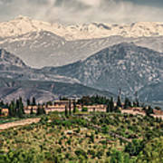 Sierra Nevada View Poster
