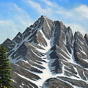 Sierra Peaks Poster