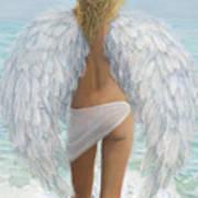 Siesta Key Beach Angel Poster