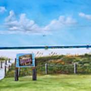Siesta Key Public Beach Poster