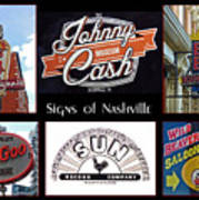 Signs Of Nashville Poster