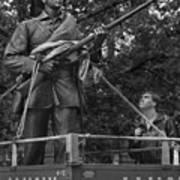 Silent Sam In A Uhaul Trailer Poster