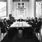Silent Still: Board Meeting Poster