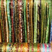 Silk Scarves For Sale Poster