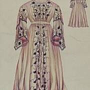 Silk Taffeta Costume Poster