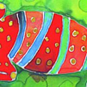 Silky Gecko Poster
