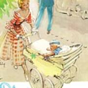 Silver Cross Baby Coach Poster